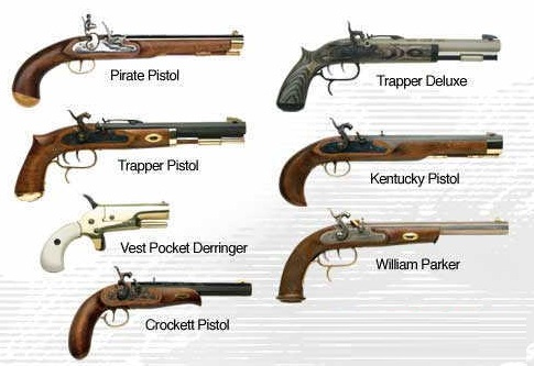 Classic Black Powder Guns Kits