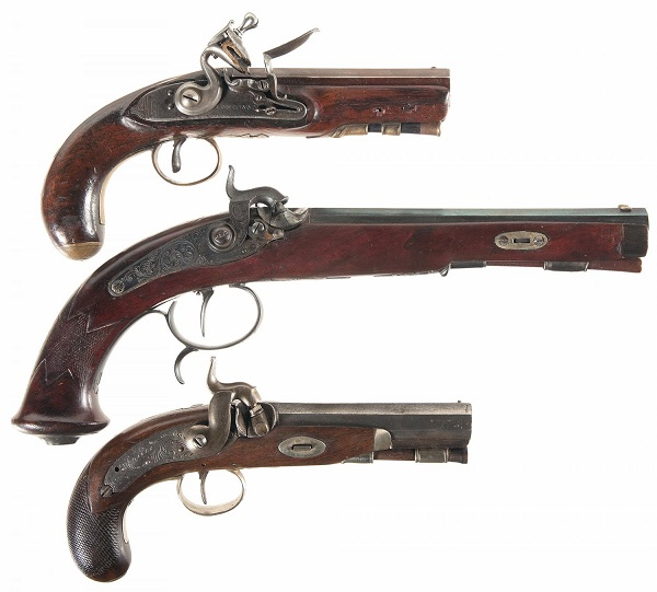 Three Used Black Powder Guns