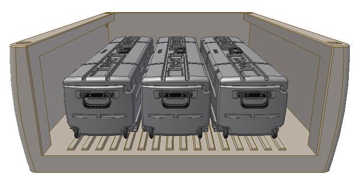 Tote Vehicle Gun Storage