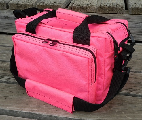 Cute Pink Gun Range Bag