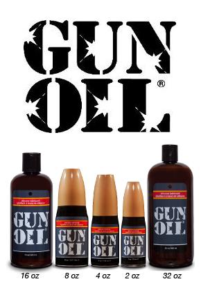 Gun Oil Silicone Personal Lubricant