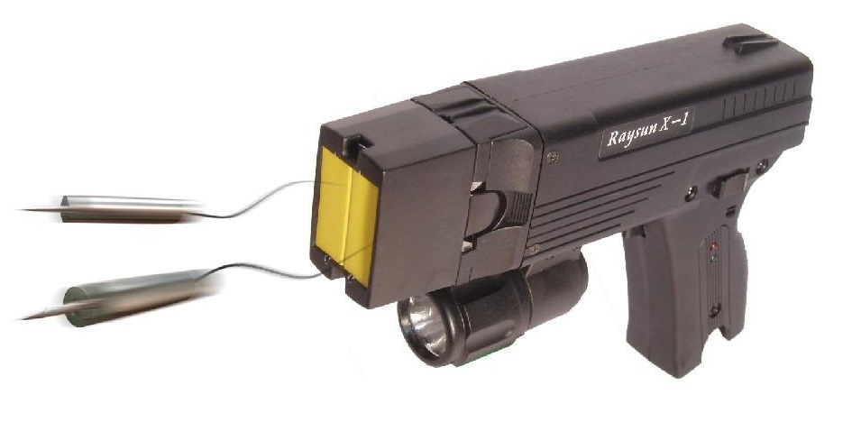 The Raysun Stun Gun Flashlight